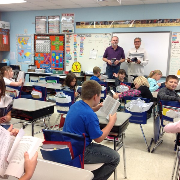 Galion Rotary donated dictionaries to 3rd Grade