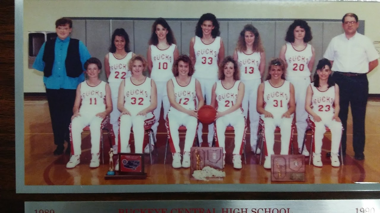 1990 Girls Basketball Team